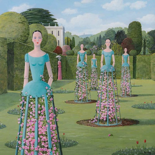 """Rose Mannequins"" by Alan Parry - 2018 