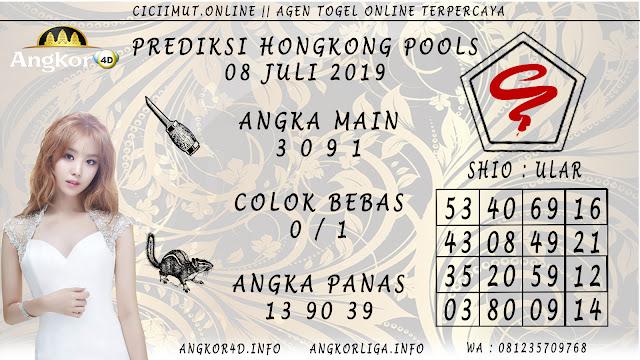 PREDIKSI HONGKONG POOLS 08 JULI 2019