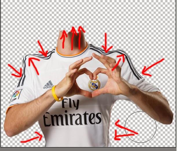 karikatur photoshop, efek foto