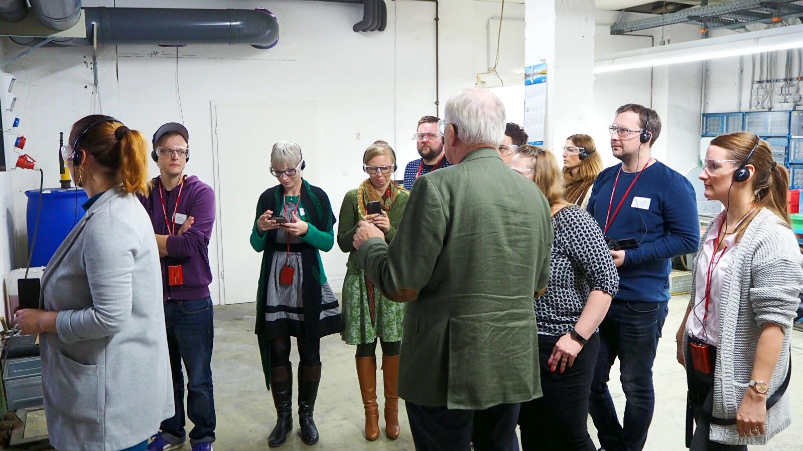 Bloggerführung im Werk von addi by Selter