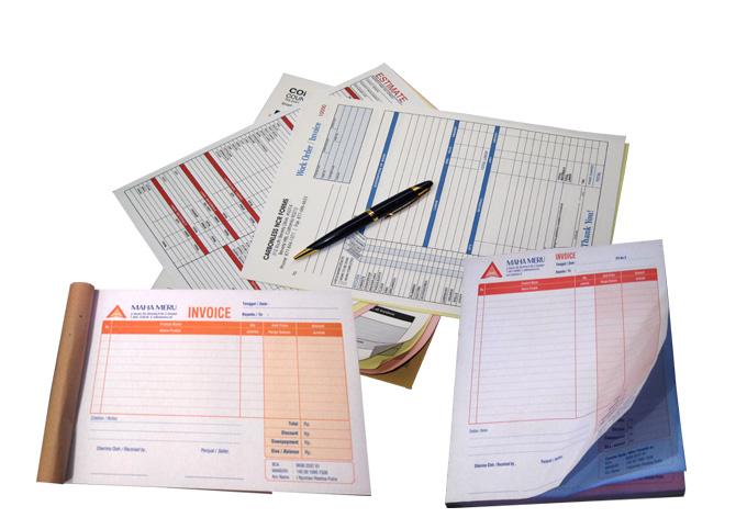Percetakan formulir khusus untuk kantor - kantor