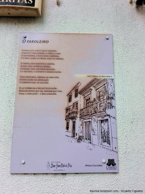 JOÃO CABRAL DO NASCIMENTO - RUA DE SANTA MARIA - FUNCHAL