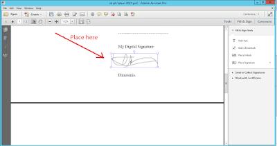 create digital signature pdf