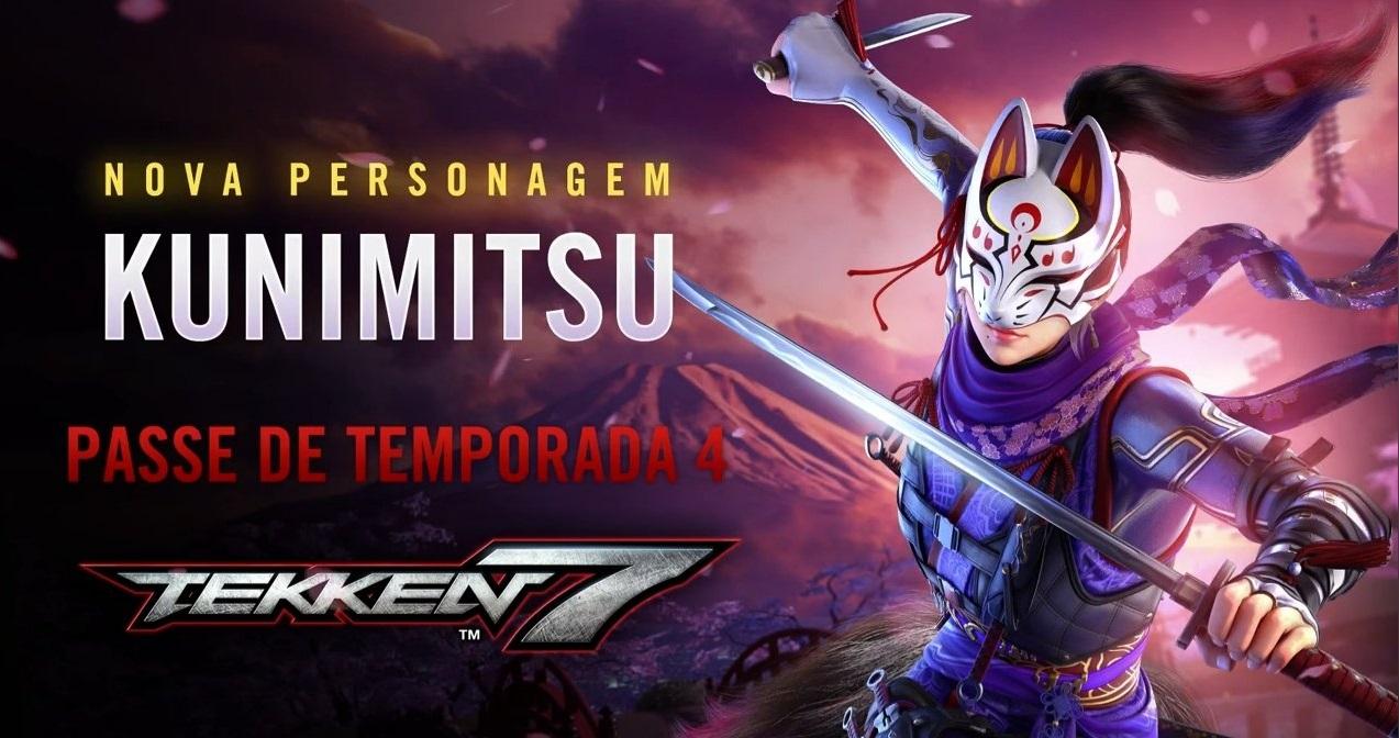 Bandai Namco Brazil accidentally leaks Kunimitsu and Season Pass 4 Roadmap for Tekken 7