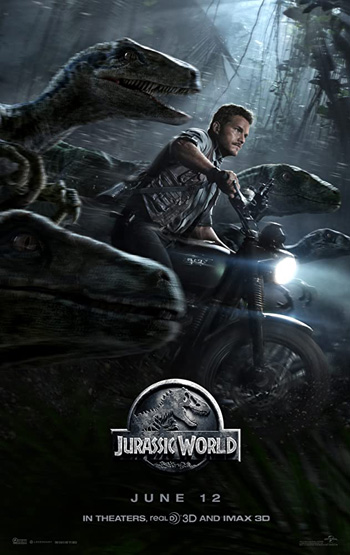 Jurassic World 2015 Dual Audio ORG Hindi DD5.1Ch 1GB BluRay 720p ESubs poster