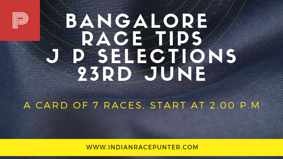Bangalore Race Tips 23 June