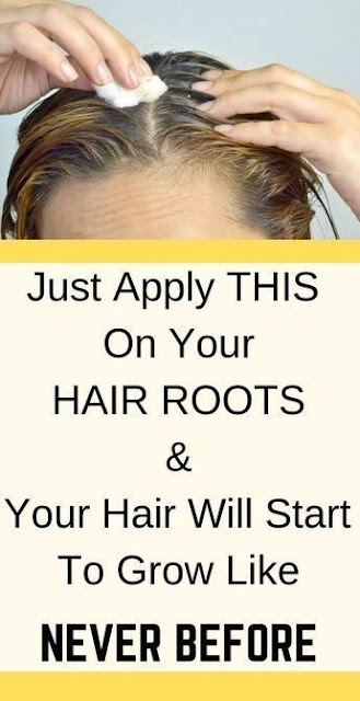 Just Apply This On Your Hair, And They Will Grow Nonstop