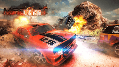 MadOut Open City v6 Mod Apk Data (Unlimited Money)1