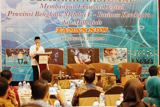 """""""Generasi Zaman Now"""" Harus Mampu Melihat Potensi Ekonomi Bengkulu"""