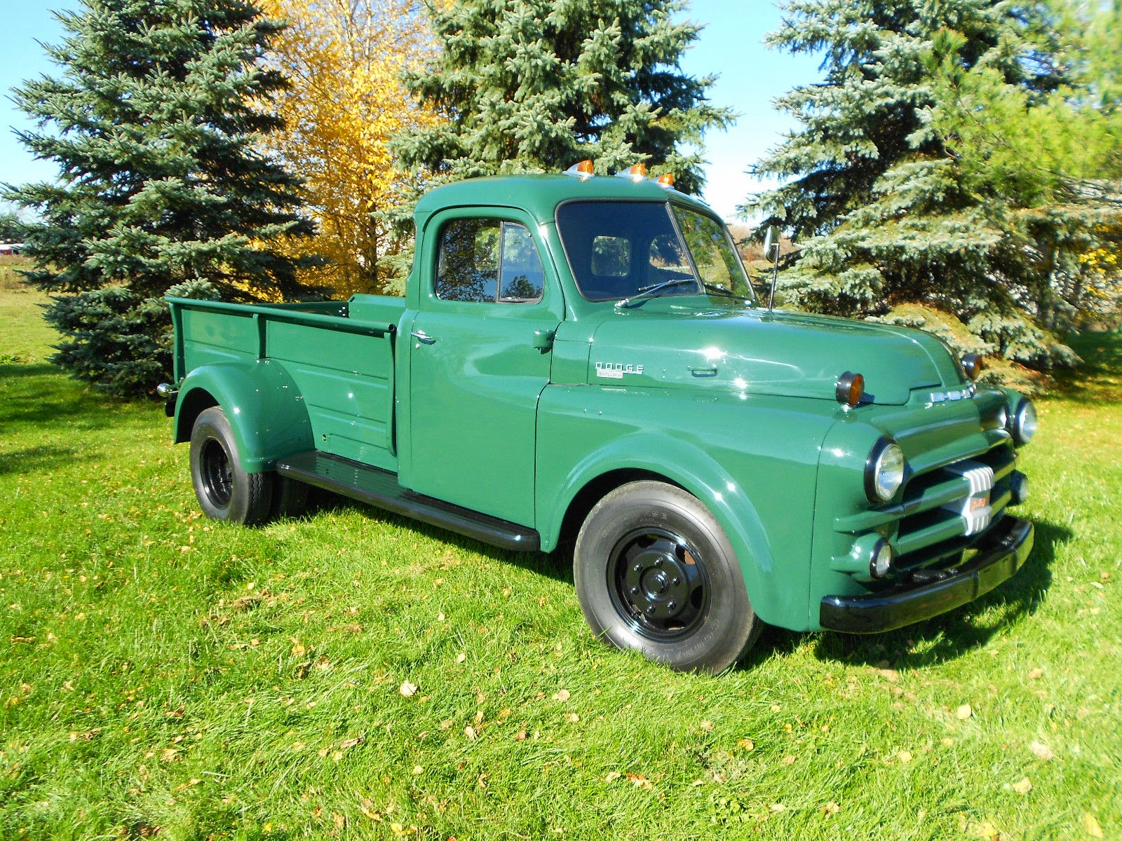 rare 1951 dodge b series dually pickup truck auto restorationice. Black Bedroom Furniture Sets. Home Design Ideas