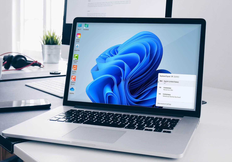 Cách cài bộ gõ tiếng Việt trên Windows 11