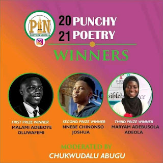 PIN punch Poetry contest 2021