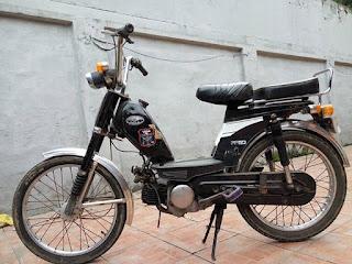 GUDANG MOTOR ANTIK : Jual Hella 50cc tahun 1983 full orsl