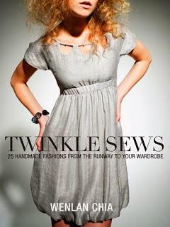 portada libro twinkle sews