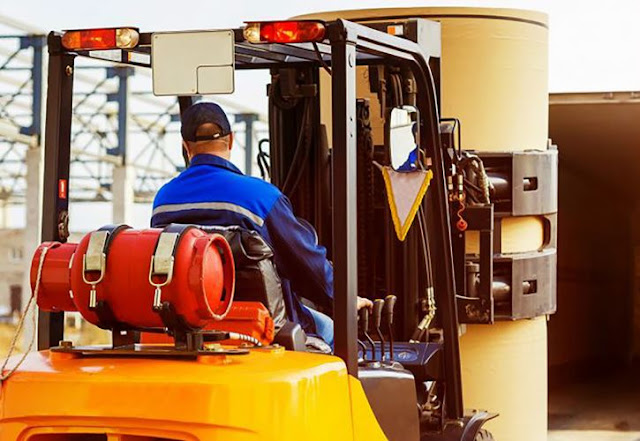 benefits forklift safety training warehouse inventory management