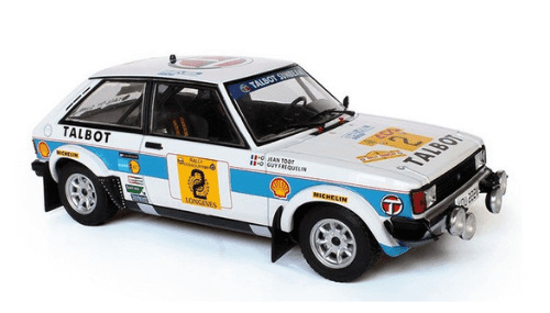 WRC collection 1:24 salvat españa, Talbot Sunbeam Lotus 1:24