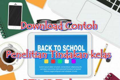 Download Contoh PTK Kelas 3 Lengkap