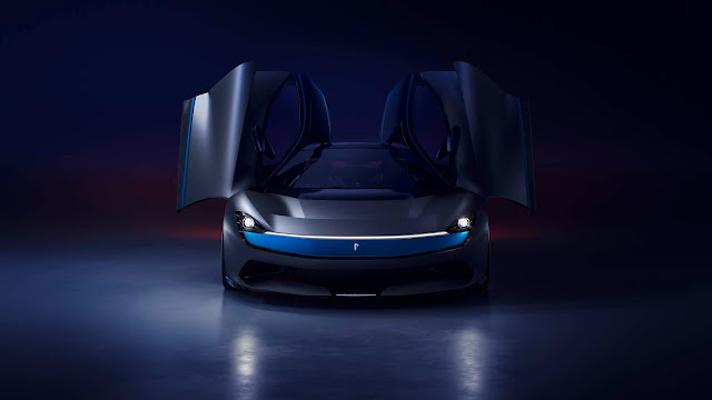 Electric Pininfarina Battista Hypercar Gets a Small Redesign