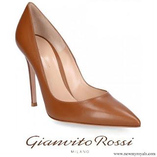 Crown Princess Victoria wore Gianvito Rossi Nappa Leather Pumps