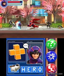 Big Hero 6 Battle In The Bay 3DS CIA Reg Free