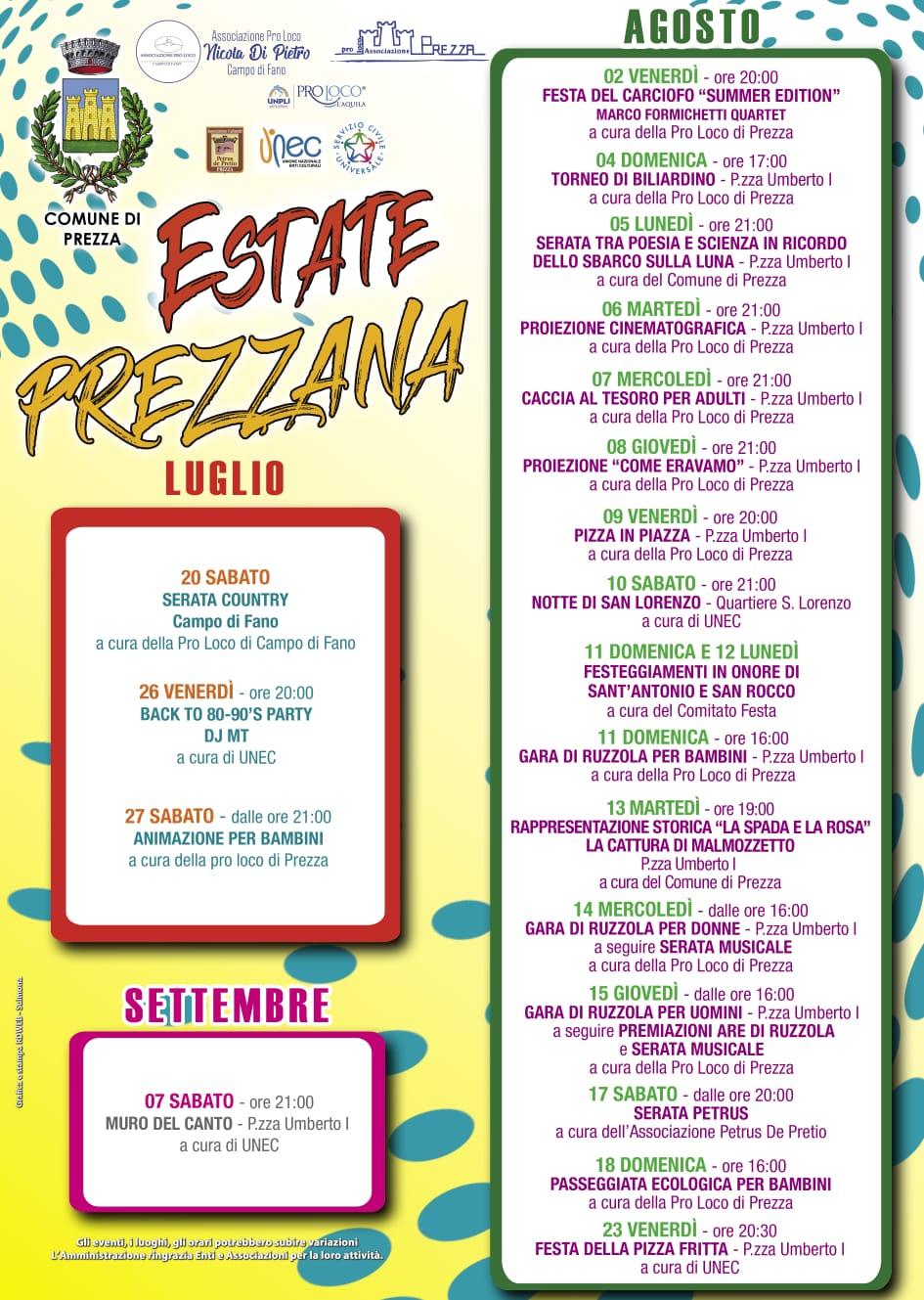 Transiberiana Dabruzzo Calendario 2020.Centroabruzzonews Calendario Eventi