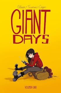 GIANT DAYS (volúmenes 1, 3 y 4)