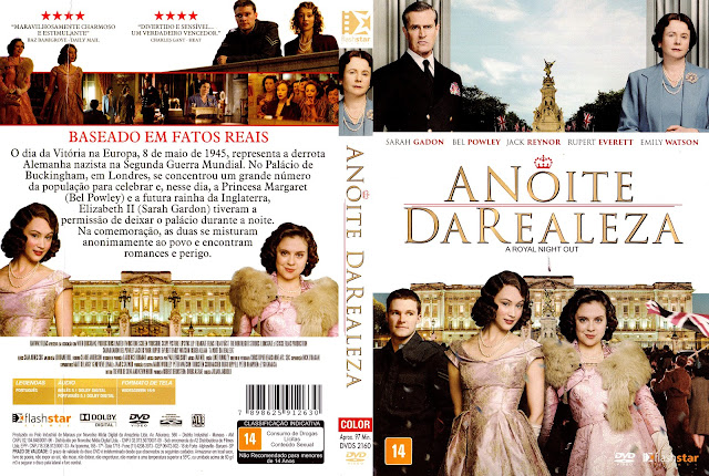 Capa DVD A Noite da Realeza