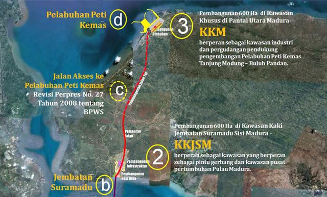 Pengembangan Kawasan Kaki Jembatan Suramadu #MenduniakanMadura