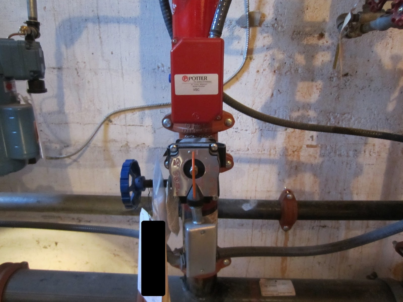 Fire protection deficiencies vane type water flow switches
