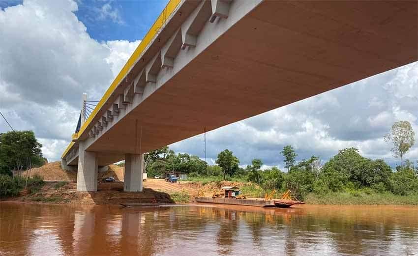 Bolsonaro irá inaugurar ponte que liga maranhão e piauí.