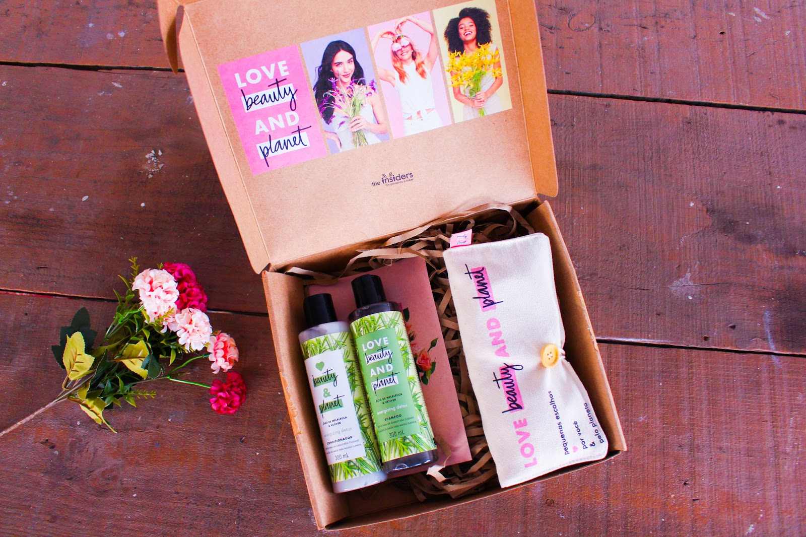 Recebidos The Insiders: Shampoo e Condicionador Love Beauty and Planet