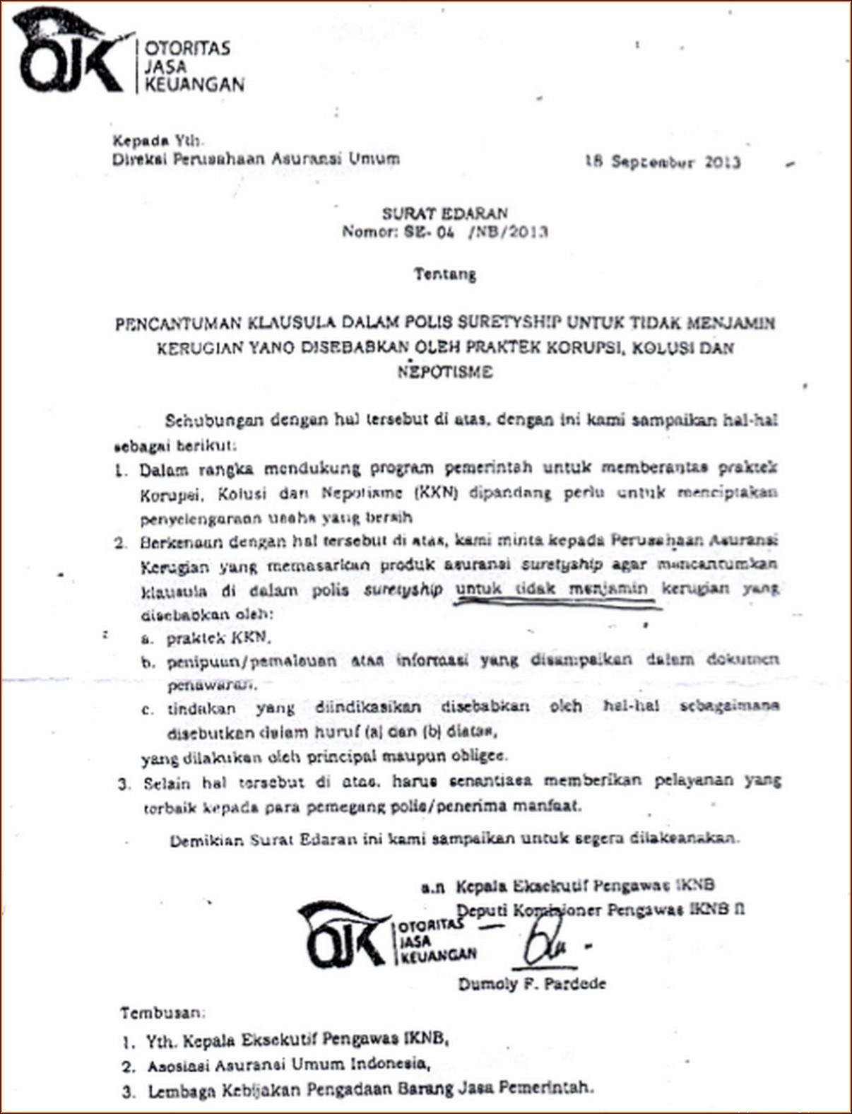 Contoh Surat Permintaan Penawaran Barang Elektronik