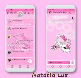Hello LP Theme For YOWhatsApp & Fouad WhatsApp By Natalia Luz