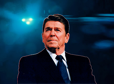President Reagan was Concerned About Aliens