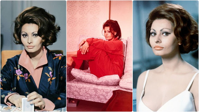 Photos of Sophia Loren During the Filming of 'A Countess from Hong Kong' (1967)