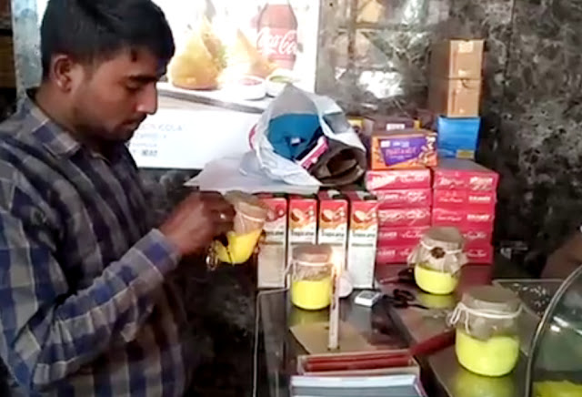 Ballabgarh Health Department team kicks off against adulteration, sampling after raid