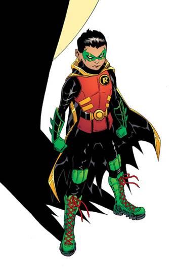 Damian Wayne es Robin