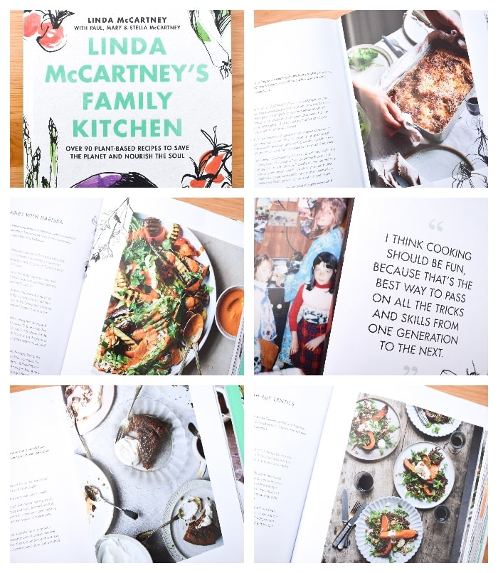 Images from Linda McCartney's Family Kitchen