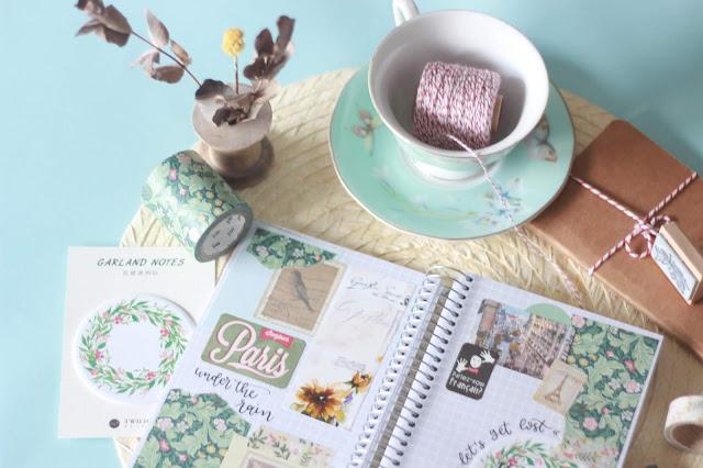 Cuadernos de inspiración: París