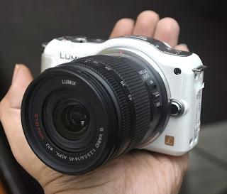 Jual Mirrorless Bekas Lumix GF5 + Kit di Malang