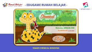 ARNAIM.COM - EDUGAME! PERMAINAN INTERAKTIF FITUR TERBARU RUMAH BELAJAR | SNAKE CHEMISTRY BONDING