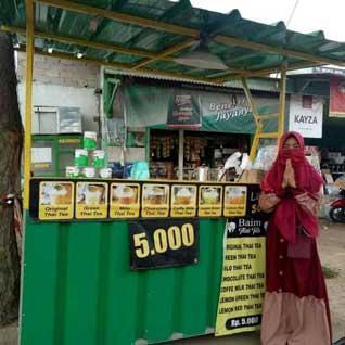 Lowongan Kerja Jaga Gerobok Minuman Thai Tea Perintis Makassar