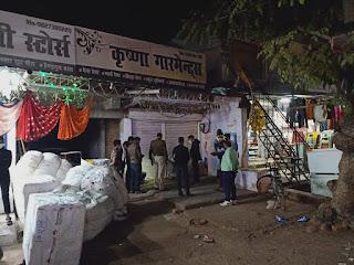 कोरोना गाईड लाईन का उल्लंघन करने पर 3 दुकानों को सील किया गया