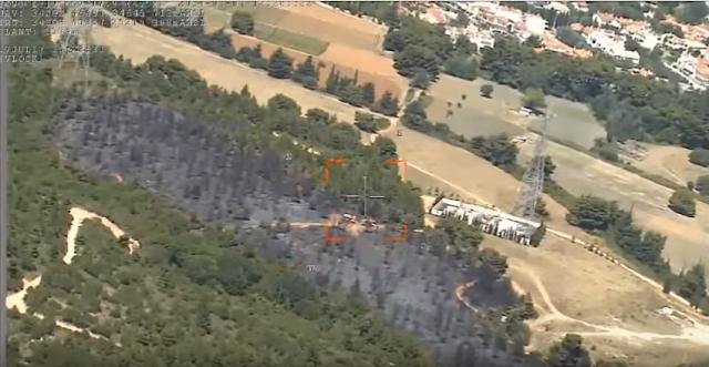 Drone της Πυροσβεστικής επιτηρεί για πυρκαγιές (βίντεο)