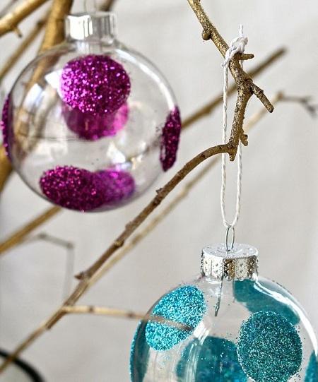 como hacer adornos para el arbol de navidad faciles