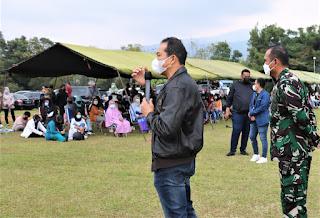 Ribuan Warga Bandung Ikuti Serbuan Vaksinasi Di Seskoau
