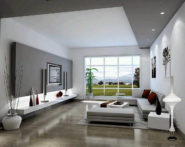 Desain Ruang Tamu Minimalis Mewah via httpareadesainrumahgratis.blogspot.com
