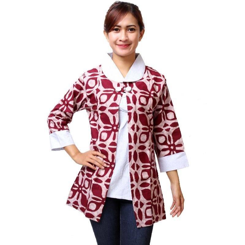 Model Baju Batik Lengan Panjang Terbaru Anak Muda Model Batik 2019