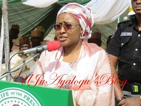 Nnamdi Kanu Took Advantage of My Husband's Absence - Aisha Buhari