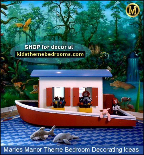 rainforest jungle bedroom decorating ideas boat bed jungle river boat bedroom ideas jungle wall murals